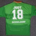 Trikot, Auswärtstrikot, Saison 1996/1997, Fortuna Düsseldorf, matchworn, Nr. 18, Thorsten Judt, Umbro, Diebels/Diebels Alt