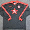 Trikot, Auswärtstrikot, Saison 2002/2003, Fortuna Düsseldorf, matchworn, Nr. 9, Frank Mayer, Umbro, Die Toten Hosen