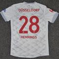 Trikot, Auswärtstrikot, HEIMAT, Saison 2018/2019, Fortuna Düsseldorf, matchworn, Nr. 28, Rouwen Hennings, Uhlsport, Henkel, Toyo Tires