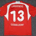 Trikot, Heimtrikot, Saison 2006/2007, Fortuna Düsseldorf, matchworn, Nr. 13, Jens Langeneke, Puma, Stadtsparkasse Düsseldorf, Fortuna club95