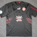 Trikot, Auswärtstrikot (Variante), Saison 2005/2006, Fortuna Düsseldorf, matchworn, Nr. 24, Ermin Melunovic, Puma, Die Toten Hosen