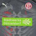 Trikot, Torwarttrikot, Saison 2009/2010, Fortuna Düsseldorf, U23, Zwote, matchworn, Puma, Stadtwerke Düsseldorf, Regionalliga West