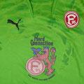 Trikot, Torwarttrikot, grün, Saison 2010/11, Fortuna Düsseldorf, Jugend, matchworn, Puma, NordConnection