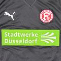 Trikot, Auswärtstrikot, Saison 2010/2011, Fortuna Düsseldorf, U23, Zwote, matchworn, Puma, Stadtwerke Düsseldorf, Regionalliga West