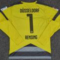 Trikot, Torwarttrikot, Saison 2015/2016, Fortuna Düsseldorf, matchworn, Nr. 1, Michael Rensing, Puma, Otelo