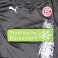 Trikot, Auswärtstrikot, Saison 2008/2009, Fortuna Düsseldorf, U23, Zwote, matchworn, Puma, Stadtwerke Düsseldorf, Regionalliga West