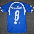 Trikot, Sondertrikot, Saison 2007/2008, Fortuna Düsseldorf, matchprepared, #10, Tomislav Zivic, Puma, boot Düsseldorf