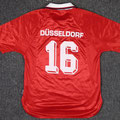 Trikot, Heimtrikot, Saison 1999/2000, Fortuna Düsseldorf, Jugend, matchworn, Nr. 16, Umbro, Henkel