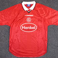 Trikot, Heimtrikot, Saison 2000/2001, Fortuna Düsseldorf, matchworn, Nr. 5, Guido Jörres, Umbro, Henkel