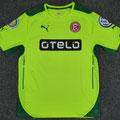 Trikot, Ausweichtrikot, Saison 2014/2015, Fortuna Düsseldorf, matchworn, Nr. 15, Lukas Schmitz, Puma, Otelo