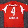 Trikot, Heimtrikot, Saison 2007/2008, Fortuna Düsseldorf, matchworn, Nr. 4, Robert Palikuca, Puma, SSK Stadtsparkasse Düsseldorf