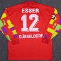 Trikot, Torwarttrikot, Saison 1996/1997, Fortuna Düsseldorf, matchworn, Nr. 12, Pierre Esser, Umbro, Diebels/Diebels Alt