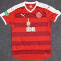 Trikot, Auswärtstrikot, Saison 2016/2017, Fortuna Düsseldorf, Jugend, U17, matchworn, Puma, IDR