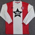 Trikot, Heimtrikot, Saison 2002/2003, Fortuna Düsseldorf, matchworn, Nr. 9, Frank Mayer, Umbro, Die Toten Hosen