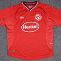 Trikot, Heimtrikot, Saison 2000/2001, Fortuna Düsseldorf, Jugend, matchworn, Umbro, Henkel