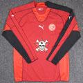 Trikot, Torwarttrikot, Saison 2007/2008, Fortuna Düsseldorf, Jugend, matchworn, Puma, Die Toten Hosen