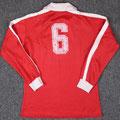 """Trikot, Heimtrikot, Saison 1980/1981, Fortuna Düsseldorf, matchworn, Nr. 6, Josef """"Sepp"""" Weikl, Puma, ARAG"""