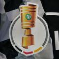 """Saison 2020/21, Trikot, Ausweichtrikot """"Mit Ecken und Kanten"""", Fortuna Düsseldorf, matchworn, Nr. 22, Leonardo Koutris, Uhlsport, Henkel, Colter, DFB-Pokal"""