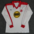 Trikot, Auswärtstrikot (Variante), Saison 1978/1979, Fortuna Düsseldorf, matchworn, Nr. 7, Thomas Allofs, Puma, ARAG