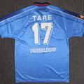 Trikot, Auswärtstrikot, Saison 1998/1999, Fortuna Düsseldorf, matchworn, Nr. 17, Igli Tare, Umbro, Henkel
