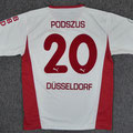 Trikot, Heimtrikot, Saison 2005/2006, Fortuna Düsseldorf, matchworn, Nr. 20, Marcel Podszus, Puma, Stadtsparkasse Düsseldorf