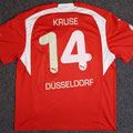 Trikot, Heimtrikot, Saison 2006/2007, Fortuna Düsseldorf, matchworn, Nr. 14, Tim Kruse, Puma, Stadtsparkasse Düsseldorf