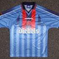 Trikot, Auswärtstrikot, Saison 1997/98, matchworn, Nr. 10, Igor Dobrovolski, Umbro, Diebels, Diebels Alt