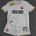 Trikot-Set, Trikot, Auswärtstrikot, Saison 2013/2014, Fortuna Düsseldorf, matchworn, Nr. 25, Tugrul Erat, Puma, Otelo