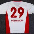 Trikot, Heimtrikot, Saison 2005/2006, Fortuna Düsseldorf, matchworn, Nr. 29, Spieler unbekannt, Puma, Stadtsparkasse Düsseldorf