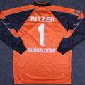 Trikot, Torwarttrikot, Saison 1999/2000, Fortuna Düsseldorf, matchworn, Nr. 11, Mirko Bitzer, Umbro, Henkel