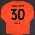 Trikot, Torwarttrikot, Trikot, Saison 2018/2019, Fortuna Düsseldorf, prepared, Nr. 30, Raphael Wolf, Uhlsport