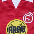 Trikot, Heimtrikot, Saison 1978/1979, Fortuna Düsseldorf, Fanshop, Nr. 11, Puma, ARAG