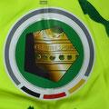 Trikot, 2. Ausweichtrikot, Saison 2015/2016, Fortuna Düsseldorf, matchworn, Nr. 4, Julian Schauerte, Puma, Otelo