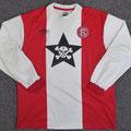 Trikot, Heimtrikot, Saison 2002/2003, Fortuna Düsseldorf, matchworn, Nr. 13, Axel Bellinghausen, Umbro, Die Toten Hosen