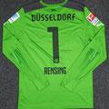 Trikot, Torwarttrikot, Saison 2014/2015, Fortuna Düsseldorf, matchworn, Nr. 1, Michael Rensing, Puma, Otelo