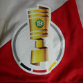 "Heimtrikot ""Tradition"", Trikot, Saison 2018/2019, Fortuna Düsseldorf, matchworn, Nr. 20, Dodi Lukébakio, Uhlsport, Henkel, DFB-Pokal, VW"