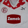 Trikot, Ausweichtrikot, Saison 1989/1990, matchworn, Nr. 11, Spieler unbekannt, Puma, Zamek