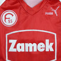 Trikot, Auswärtstrikot, Saison 1990/1991, Fortuna Düsseldorf, matchworn, Nr. 10, Thomas Allofs, Puma, Zamek