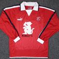 Heimtrikot, Trikot, Saison 2003/2004, Fortuna Düsseldorf, matchworn, Nr. 20, Puma, Monkey´s