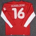 Trikot, Heimtrikot, Saison 2007/2008, Fortuna Düsseldorf, matchworn, Nr. 16, Puma, Die Toten Hosen, LTU