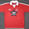Trikot, Heimtrikot, Saison 2004/2005, Fortuna Düsseldorf, U23, Zwote, matchworn. Nr.2, Puma, Die Toten Hosen