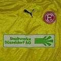 Trikot, Torwarttrikot, Saison 2006/2007, Fortuna Düsseldorf, U23, Zwote, Rohling, Puma, Stadtwerke Düsseldorf