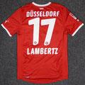 Trikot, Heimtrikot, Saison 2011/12, matchworn, Nr. 17, Andreas Lambertz, Puma, Bauhaus
