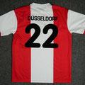 Trikot, Heimtrikot, Saison 2002/2003, Fortuna Düsseldorf, matchworn, Nr. 22, Umbro, Die Toten Hosen
