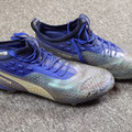 "Schuhe, Saison 2018/2019, Fortuna Düsseldorf, Puma One, matchworn, Andreas ""Lumpi"" Lambertz, personalized, personalisiert"