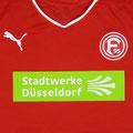 Trikot, Heimtrikot, Saison 2014/2015, Fortuna Düsseldorf, U23, Zwote, matchworn, Puma, Stadtwerke Düsseldorf, Regionalliga West