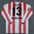 Trikot, Heimtrikot, Saison 1997/1998, Fortuna Düsseldorf, matchworn, Nr. 38, Guido Jörres, Umbro, Diebels/Diebels Alt