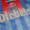 Trikot, Auswärtstrikot, Saison 1997/98, matchworn, Nr. 17, Igli Tare, Umbro, Diebels, Diebels Alt
