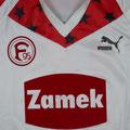 Trikot, Ausweichtrikot, Sondertrikot, Saison 1989/1990, Fortuna Düsseldorf, matchworn, Nr, 10, Thomas Allofs, Puma, Zamek