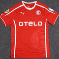 Trikot, Heimtrikot, Saison 2013/2014, Fortuna Düsseldorf, matchworn, Nr. 18, Mathis Bolly, Puma, Otelo